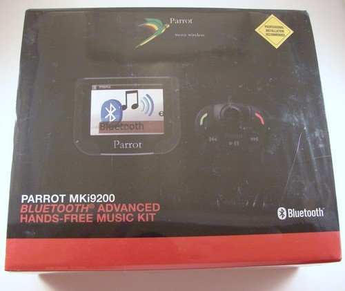 Parrot Bluetooth Steering Wheel (Parrot MKi9200 Advanced Color Display Bluetooth Hands-Free Music Kit )