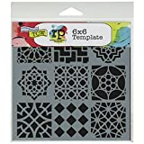 The Crafter's Workshop 6 x 6-inch Moroccan Tiles Stencil