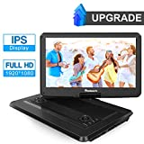 """1920x1080 IPS 15.6"""" Portable DVD Player Support Sync Screen, Last Memory, 1080P Video"""