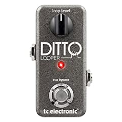 Ditto Looped is the only Looped designed specifically for guitarists. It combines all essential Looped functionalities with an intuitive One-Button UI, a true-bypass, analog dry-through design, ultra-small footprint and 24 bit uncompressed hi...