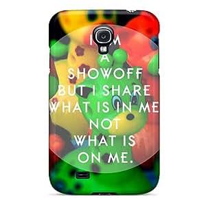 New Design Shatterproof IyhDf16193XaDln Case For Galaxy S4 (showoff Inspiration)