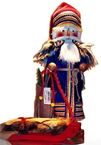 2004 Signed Herr Steinbach Scandinavian Santa Nutcracker, Retired, 11th Christmas Legends Series by Steinbach Nutcrackers Steinbach Family