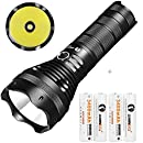 LUMINTOP® SD75 4000 Lumen Rechargeable Searchlight LED Flashlight With Power Bank Function Cree XHP70 + 4X 3400mAh 18650 Batteries Max 652m With Strobe