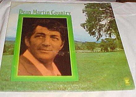 Dean Martin Country (2 Record Set) Record Album Vinyl LP