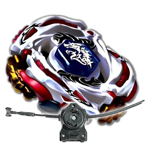 [Beyblade Meteo L Drago White w/ LL2 Launcher Rip Cord Shipped and Sold From US] (Beyblade Halloween Costumes)