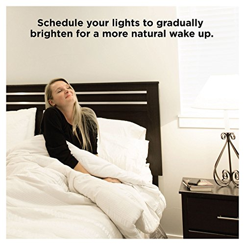 Sengled Smart LED Daylight A19 Bulb, Hub Required, 5000K 60W Equivalent, Works with Alexa, Google Assistant & SmartThings, 4 Pack by Sengled (Image #6)