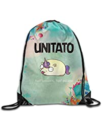 Unitato Half Unicorn Half Potato Unisex's Drawstring BackpackString Backpack