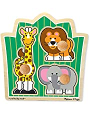 Melissa & Doug Deluxe Puppet Theater, Sturdy Non-Tip Base, Plush Curtains