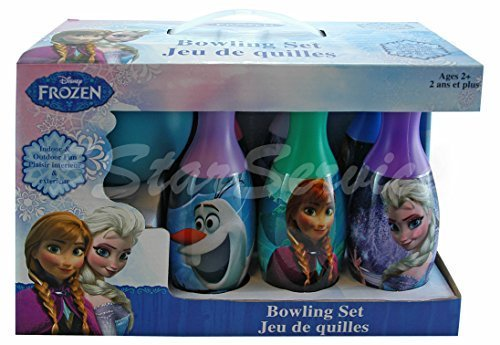 Brand New! Disney Frozen Elsa Anna Olaf Bowling Set - Boys Girls Kids Birthday Gift Toy by 5StarService