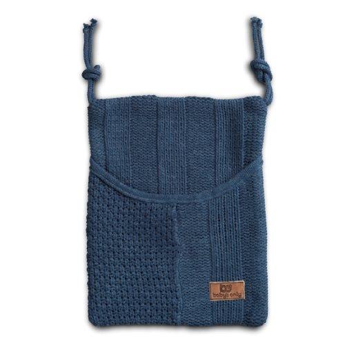 Baby's Only 174512 - Bolso de punto (30 x 25 cm) gris azul