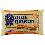 Blue Ribbon, Enriched Golden Parboiled Rice, 10-Pound