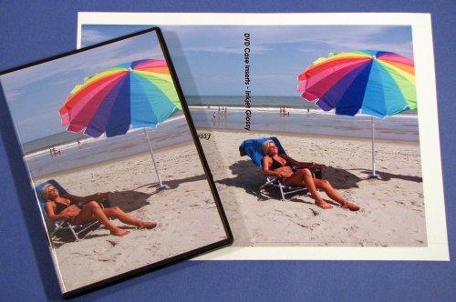 DVD Case Inserts Glossy A4 Size Inkjet or Laser 25 Sheets (Glossy Dvd Inserts)
