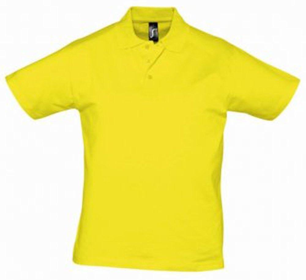 Sol del Prescott para Hombre Jersey Polo para Hombre limón XL ...
