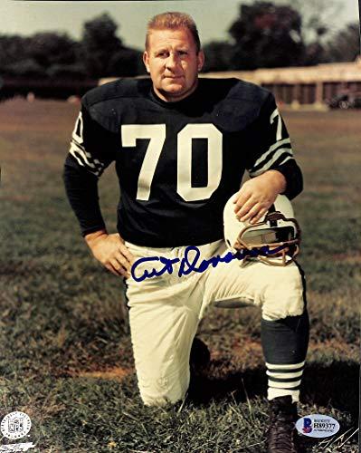 Colts Art Donovan Authentic Signed 8x10 Photo Autographed BAS