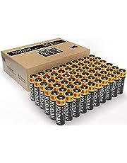 KODAK AA batterier | Långvariga alkaliska batterier | 1,5 v, 10 års hållbarhet, bulkpaket - 60 [AA]