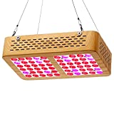 AEJSLOK Reflector-Series LED Grow Light, 300W Grow Light Full Spectrum for Indoor Hydroponic Greenhouse Plants Veg and Flower Review