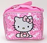 Sanrio Combo Set - Hello Kitty Lunch Bag with Strap and Hello Kitty Wallet Set