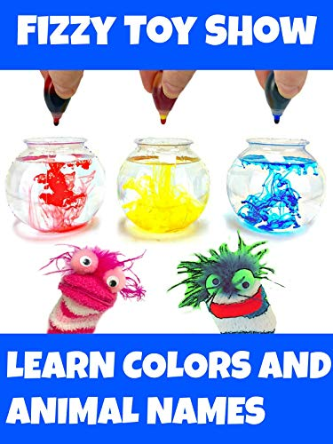 (Fizzy and Phoebe Learn Colors With Their Animal Friends - Fizzy Toy Show)