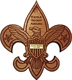 Eagle Scout Plaque Recognition Award / Laser-Cut and Engraved, Customized