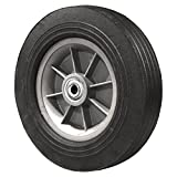 FLAT FREE Hand Truck Wheel 10'' x 2.75'' - 2.25'' Centered Hub - 1/2'' Bore - 550 lb