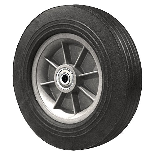 "Cheap FLAT FREE Hand Truck Wheel 10"" x 2.75"" - 2.25"" Centered Hub - 3/4"" Bore - 550 lb supplier"