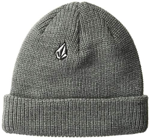 Volcom Boys' Big Cycle Stone 5 Panel Adjustable Hat, Heather Grey, One Size Fits All (Best 5 Panel Hats 2019)