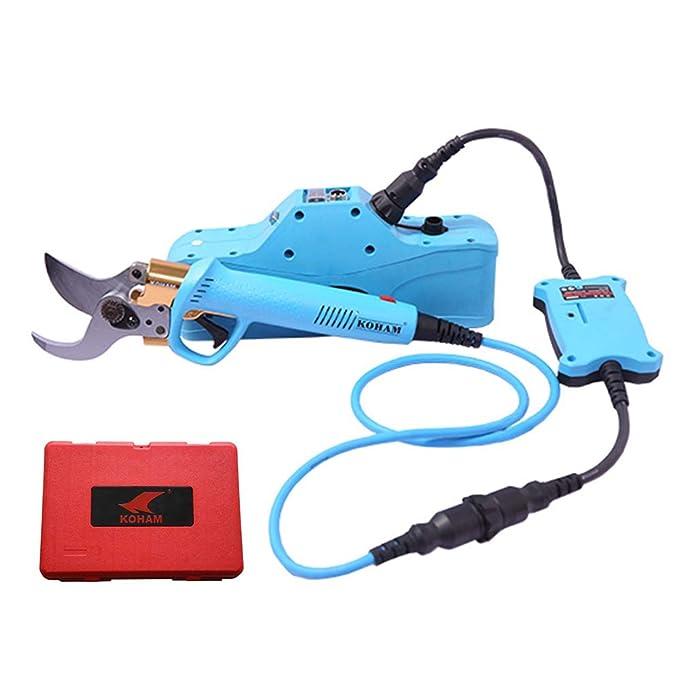 Amazon.com: KOMOK - Tijeras de podar eléctricas ...
