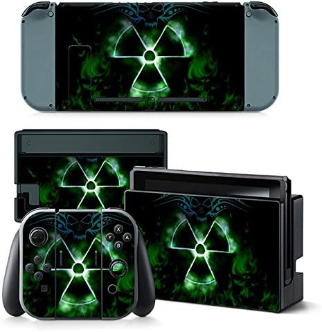 Nintendo Switch Skin Design Foils Faceplate Set - Nuclear 2 Motivo ...