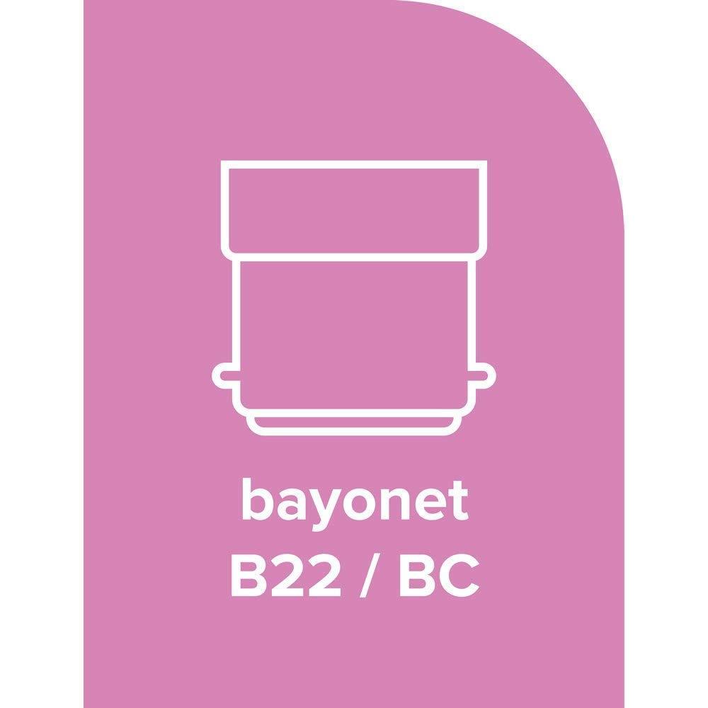 240 V B22d BC Bajonettsockel 5 x Halogen-Gl/ühlampen Golfball//Mini Gobe B22 G45 // P45 energiesparend 42 W = 55 W +3 gratis Leuchtmittel dimmbar