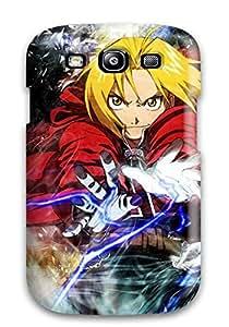 Shock-dirt Proof Fullmetal Alchemist Elric Edward Anime Case Cover For Galaxy S3