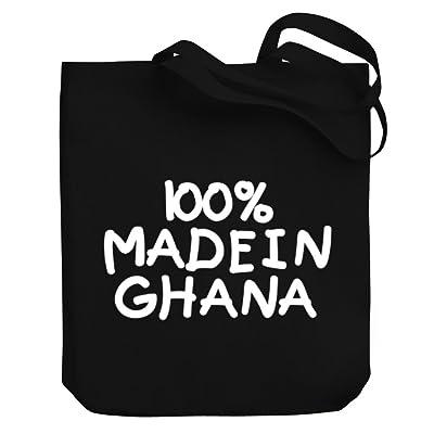 Teeburon 100 MADE IN Ghana Canvas Tote Bag