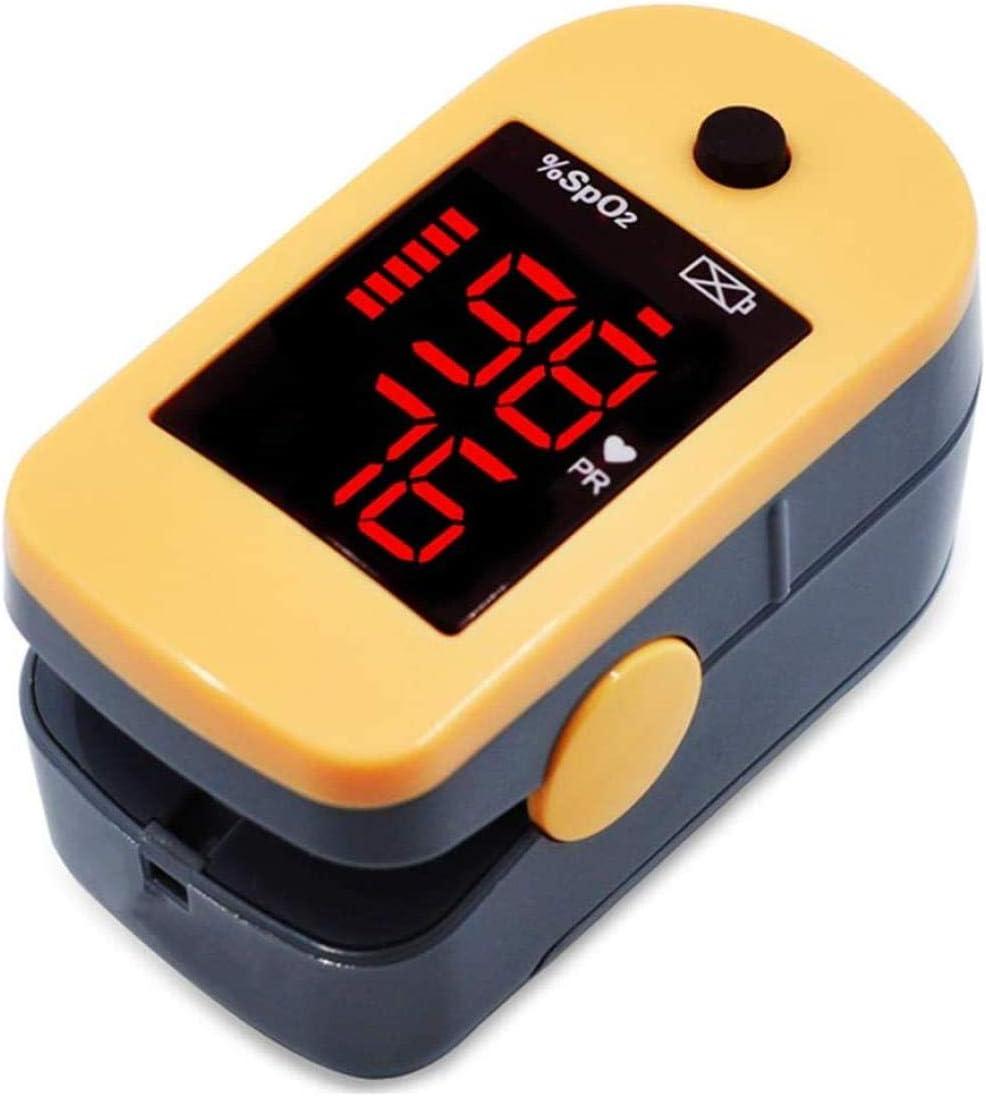 YTSFT Oxímetro De Pulso Oxímetro De Pulso De Dedo Medidor Digital De Oxígeno Tipo Clip Pantalla OLED del Sensor Spo2 Oxímetros De Pulso De Dedo Medidor De Frecuencia Cardíaca De Oxígeno En Sangre