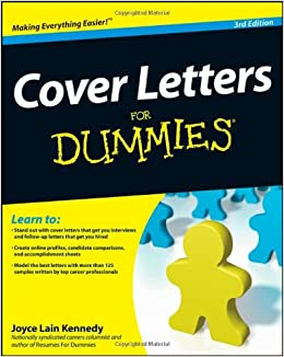 Cover Letters For Dummies: Kennedy: Amazon.com: Books