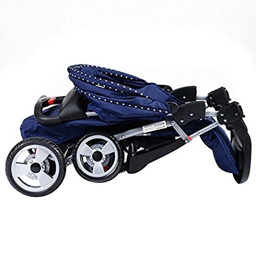 Foldable Baby Kids Travel Stroller Newborn Infant Buggy Pushchair Child Blue by Unknown (Image #4)