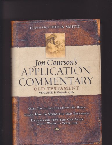 Jon Courson's Application Commentary 3 Volume Set: Old Testament Volume I and II, and New Testament