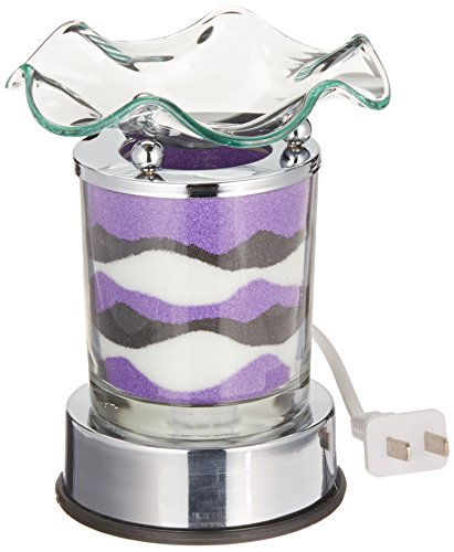 UPC 608463596667, StealStreet Purple Marble Grain Colorsand Decor Touch Sense Electric Oil Burner
