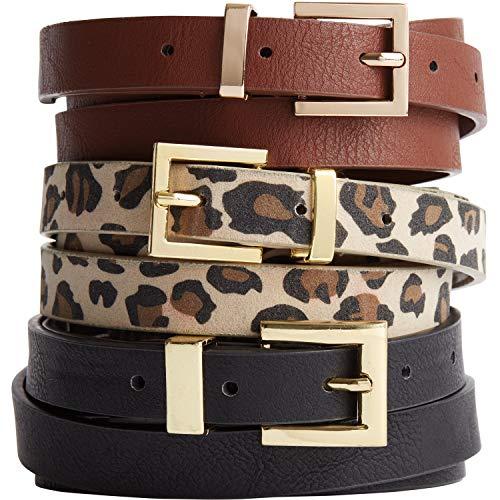 Skinny Belt - Leopard, 18/20