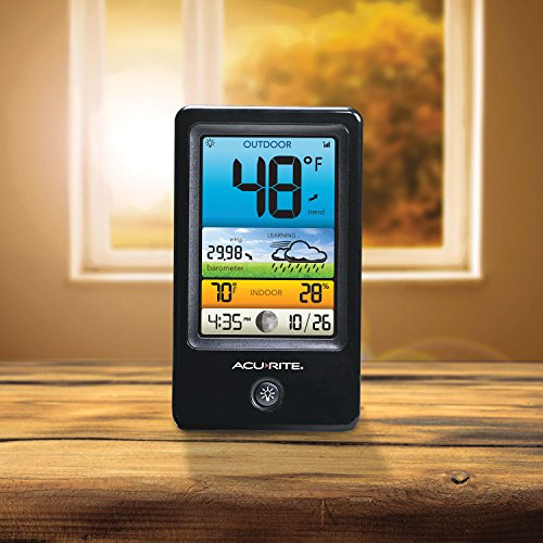 AcuRite 00509 Color Weather Station with Count Temperature/Humidity/Forecast