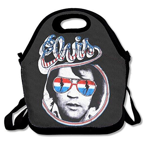 (Elvis Presley Hillbilly Cat Colorful Lunch Bag Tote Handbag )