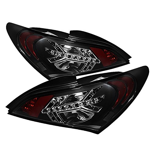 Spyder Auto ALT-YD-HYGEN09-LED-BK Hyundai Genesis Black LED Tail Light (Spyder Led Lights compare prices)