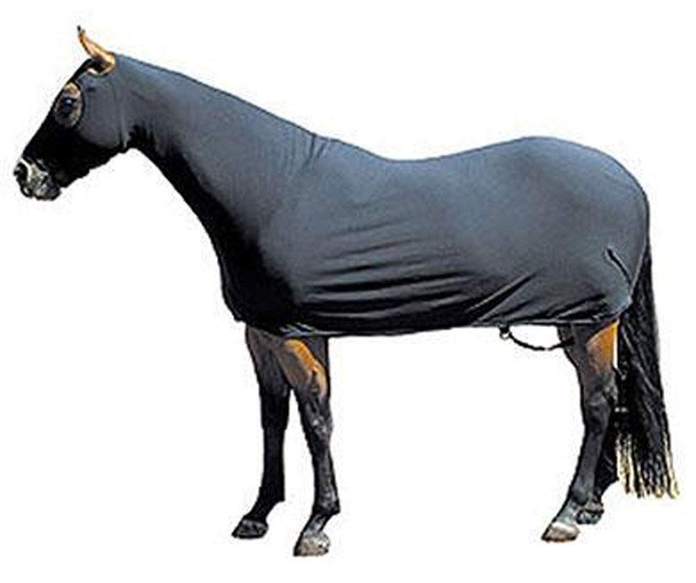 Sleazy Sleepwear For Horses Full Body M Black