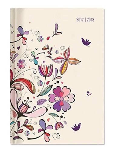 Diario Agenda Escolar collegetimer Arte Floral 2017 y 2018 ...