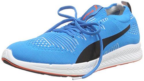 Puma Ignite Proknit, Scarpe da Corsa Uomo Blu (Blau (Atomic Blue-white-red Blast 05))