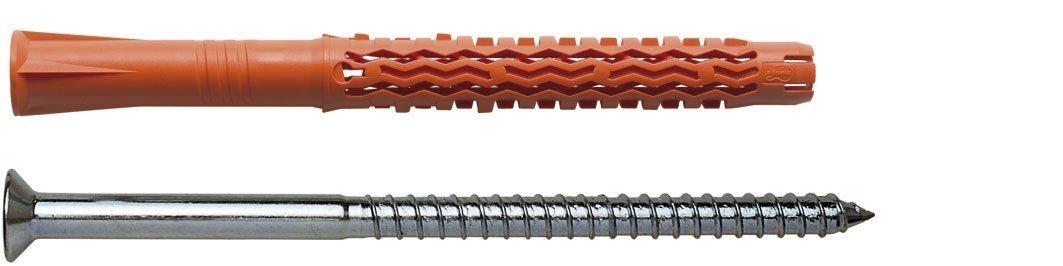 Mungo MQL-ST M1060101K Tassello Prolungato Universale in Nylon con Vite, 8x100 mm, 60 Pezzi (15 confezioni da 4)