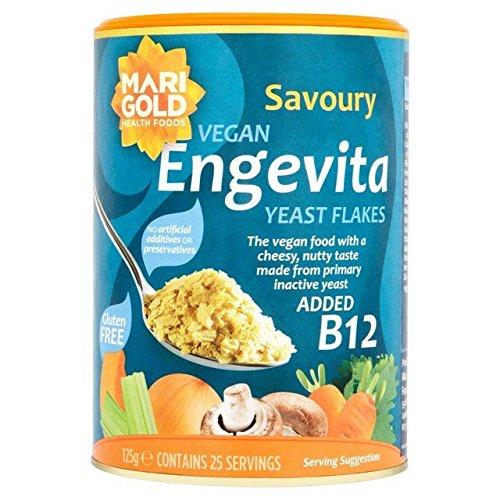 Marigold Engevita with Added B12 Yeast Flakes - 125g