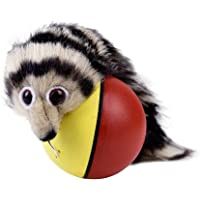 Electric Beaver Rolling Ball Toy Electric Beaver Weasel Toy Rolling Ball Jump Toys Moving in The Water Toys for Pet Dog…