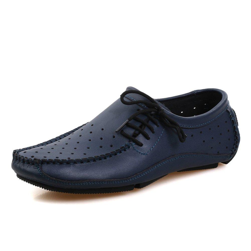 Herrenschuhe Erbsen Sommer atmungsaktive atmungsaktive atmungsaktive Schuhe Weiche Sohlen Fahren Schuhe 8b04a0