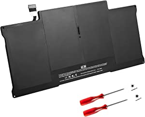 GWY-TECH New Laptop Battery for MacBook Air 13 inch A1405 A1496 A1377 A1369 [Late 2010,Mid 2011] A1466 [Mid 2012,Mid 2013,Early 2014,Early 2015] MC503 MC504 MC965LL/A MC966LL/A [7.3V 50Wh]