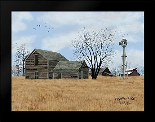 Forgotten Fields Framed Art Print by Jacobs, Billy