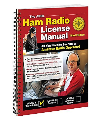 The ARRL Ham Radio License Manual Spiral Bound